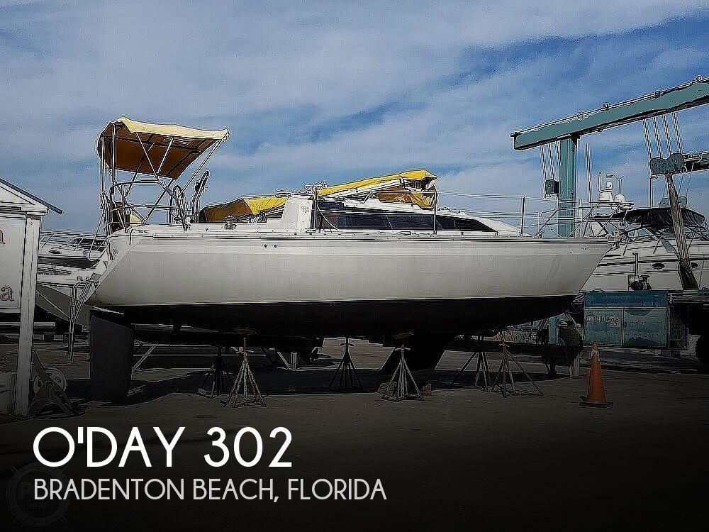 1989 O'day boat for sale, model of the boat is 302 & Image # 1 of 32
