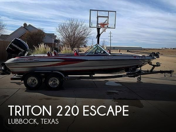 Used Boats For Sale in Lubbock, Texas by owner | 2011 Triton 220 ESCAPE