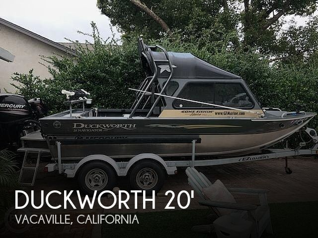 Used Duckworth Boats For Sale by owner | 2015 23 foot Duckworth Pacific Navigator
