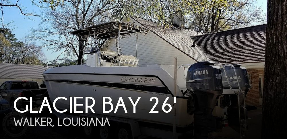 Used GLACIER BAY Boats For Sale by owner | 2003 Glacier Bay 260 Canyon Runner