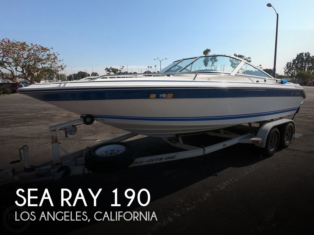 Used Sea Ray 190 Boats For Sale by owner | 1990 Sea Ray 190 Bow Rider
