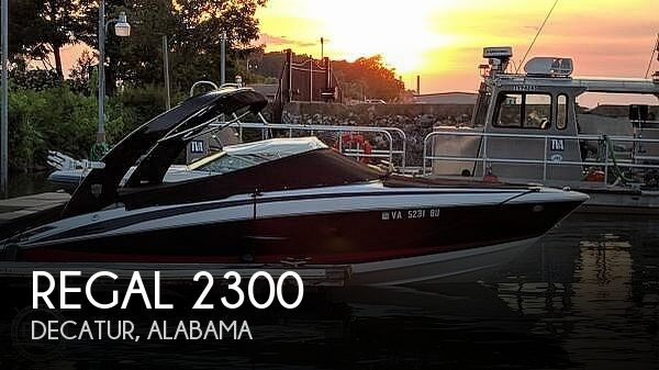 Used Boats For Sale in Huntsville, Alabama by owner | 2013 Regal 2300