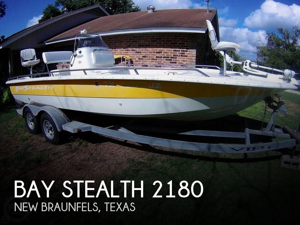 Used Bay Stealth Boats For Sale by owner | 2004 Bay Stealth 2180