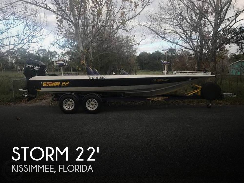 Used Storm Boats For Sale by owner | 2002 Storm 22