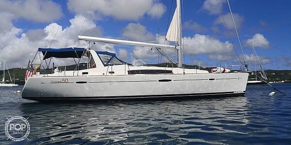 2011 Beneteau boat for sale, model of the boat is Oceanis 50 & Image # 2 of 41