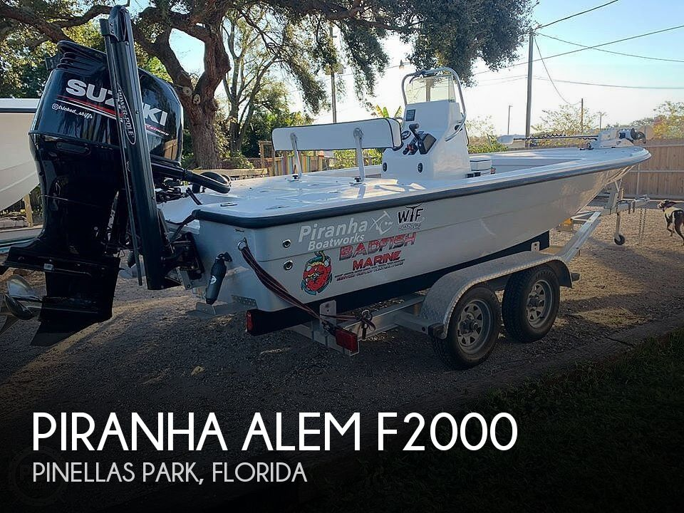 Used Piranha Boats For Sale by owner | 2019 Piranha Alem F2000