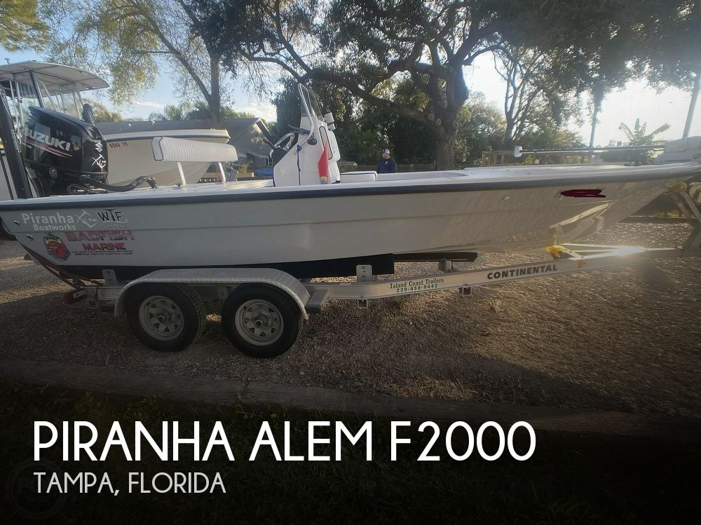 2019 Piranha boat for sale, model of the boat is Alem F2000 & Image # 1 of 41
