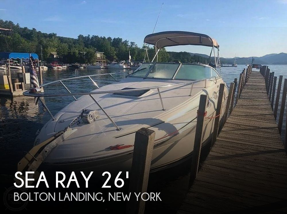 2000 Sea Ray boat for sale, model of the boat is 260 Sundancer & Image # 1 of 4