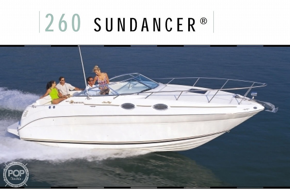 2000 Sea Ray boat for sale, model of the boat is 260 Sundancer & Image # 4 of 4