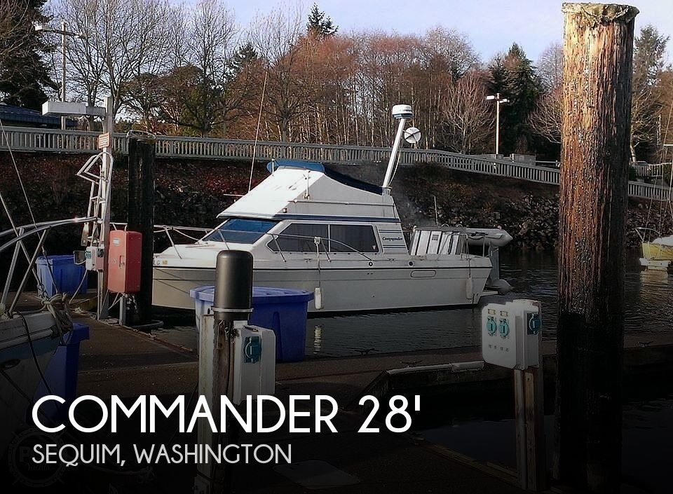 Used Commander Boats For Sale by owner | 1988 28 foot Commander Sport Fisherman
