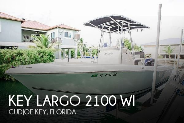 Used Key largo Boats For Sale by owner | 2013 Key Largo 2100 WI