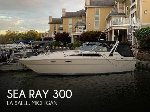 1988 Sea Ray boat for sale, model of the boat is 300 Weekender & Image # 1 of 21