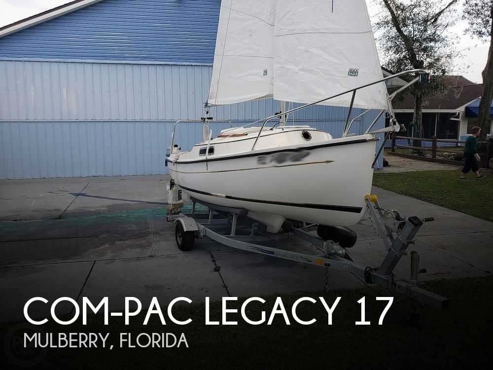 2016 Com-Pac boat for sale, model of the boat is Legacy 17 & Image # 1 of 41