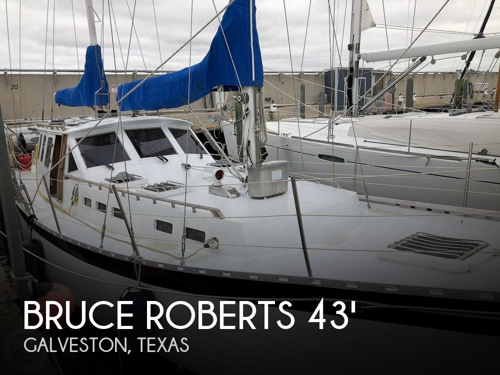 Used Sailboats For Sale in Texas by owner | 1997 Bruce Roberts Flanders K402 Motor Sailer