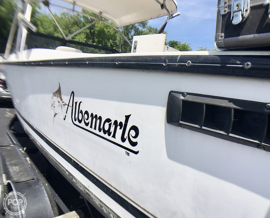 1993 Albemarle boat for sale, model of the boat is 24 & Image # 16 of 40