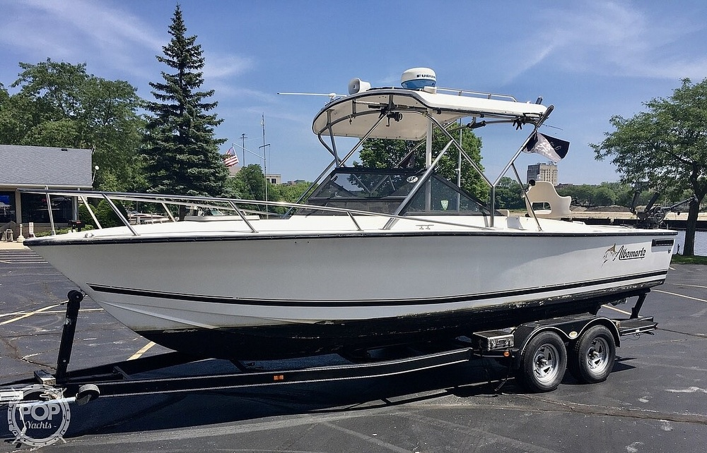 1993 Albemarle boat for sale, model of the boat is 24 & Image # 9 of 40