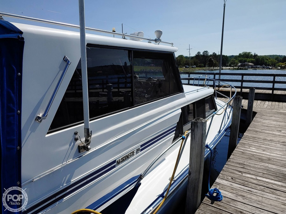 1988 Marinette boat for sale, model of the boat is 29 Sedan & Image # 5 of 6