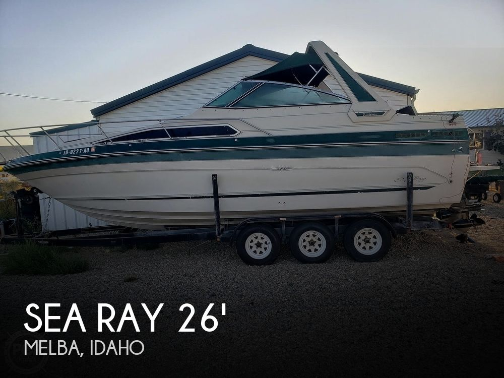 Used Sea Ray 268 Sundancer Boats For Sale by owner | 1988 Sea Ray 268 Sundancer