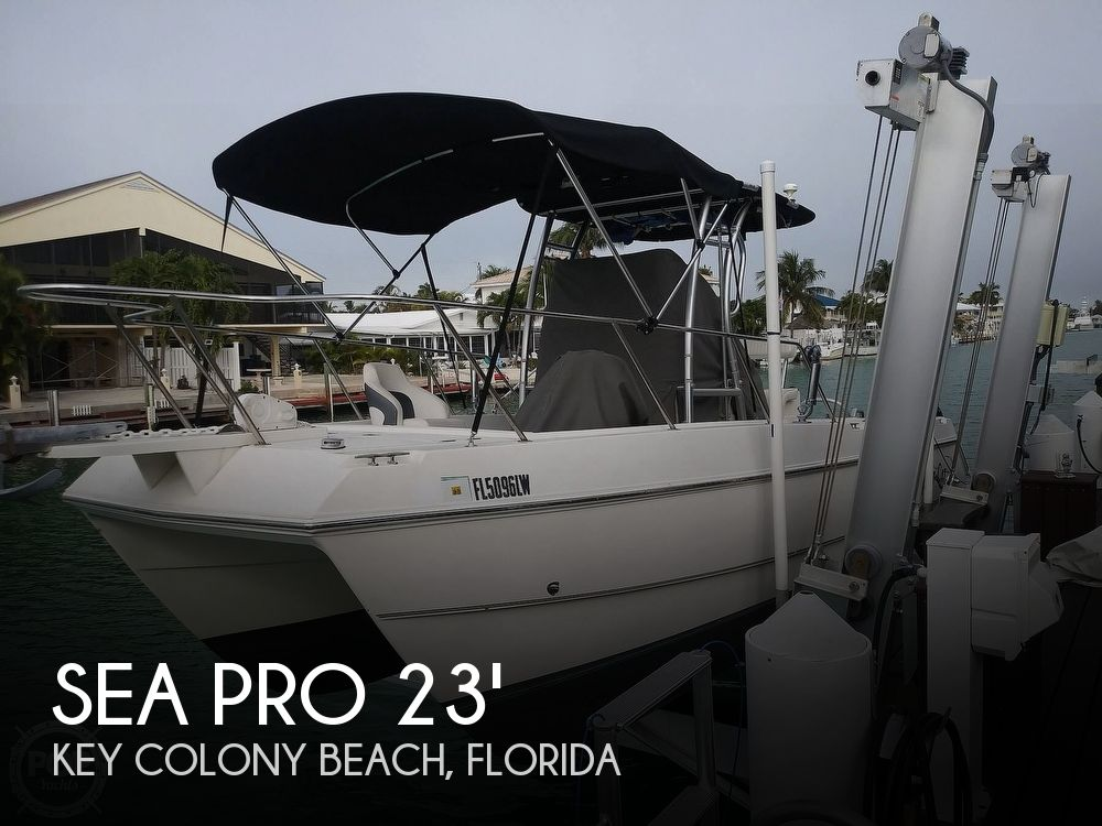 Used Sea Pro Boats For Sale by owner | 2002 Sea Pro Sportcraft SCC23