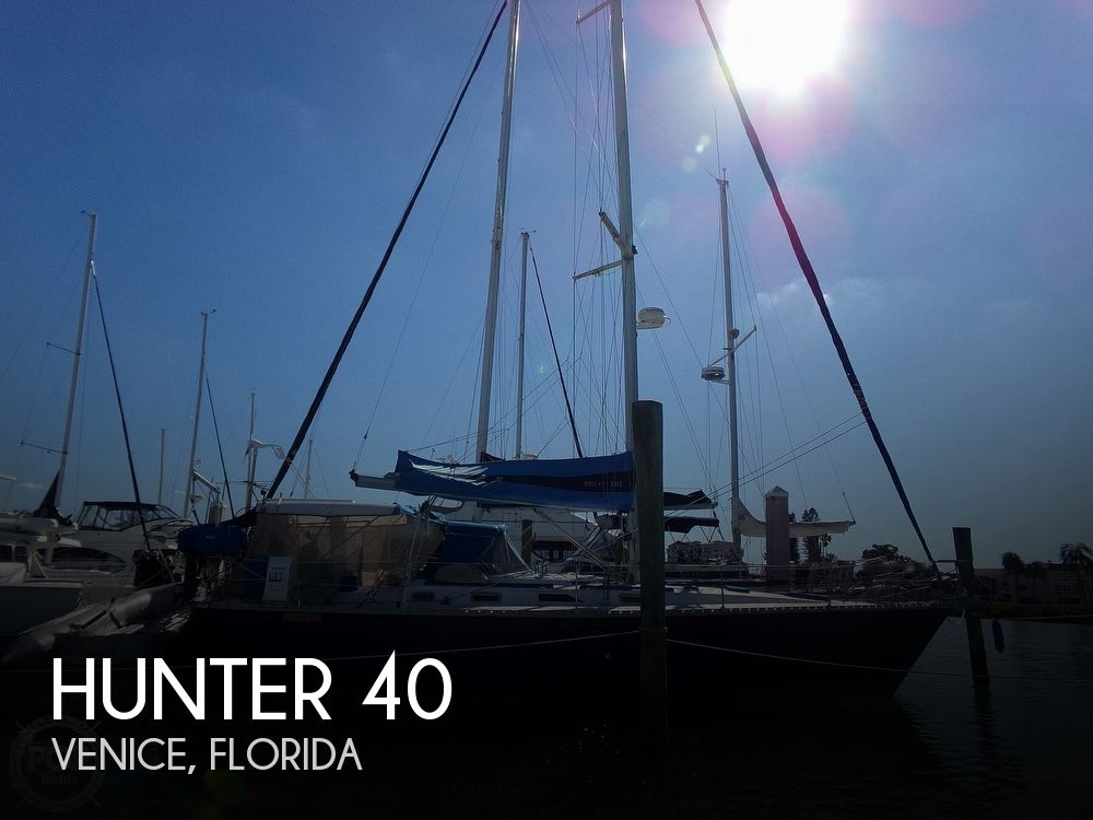 1984 Hunter boat for sale, model of the boat is 40 & Image # 1 of 40