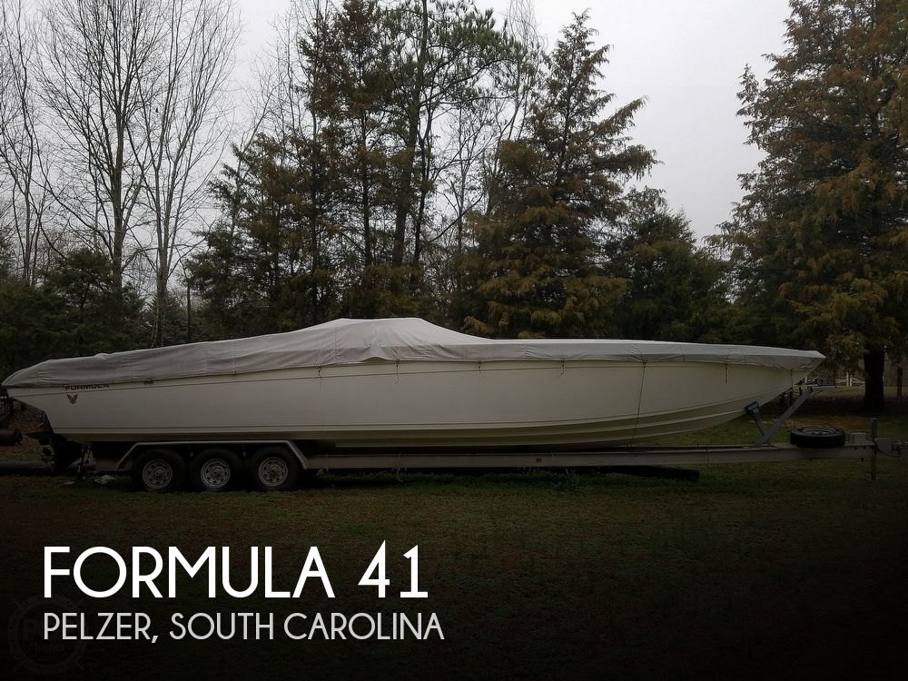 Used Boats For Sale in Greenville, South Carolina by owner | 1991 Formula 41