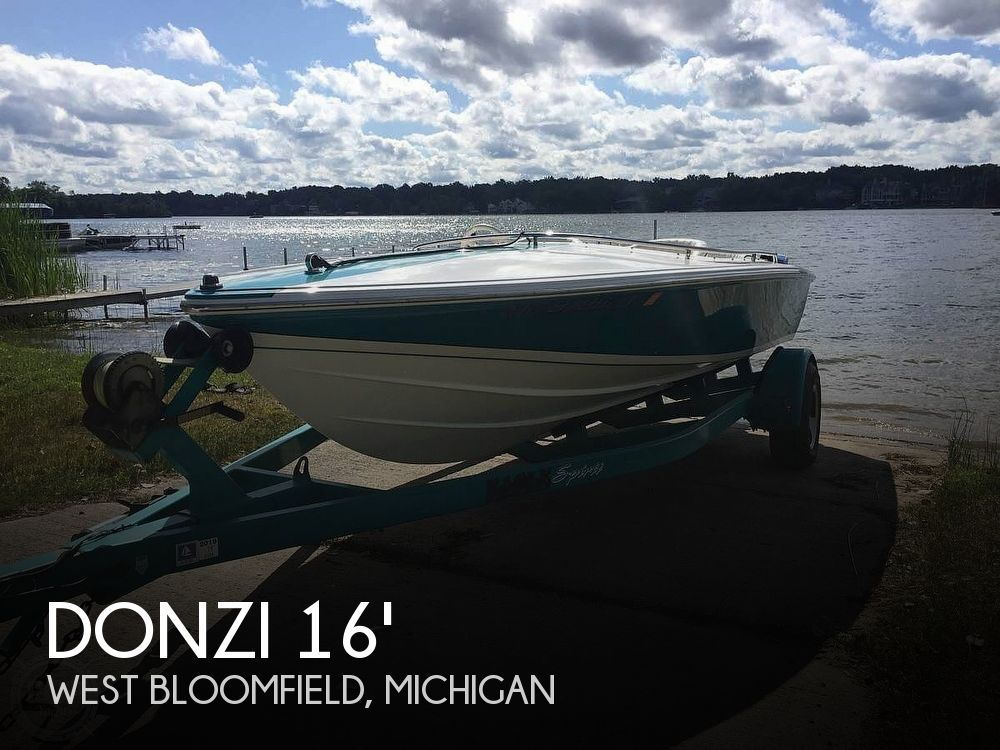 Used DONZI Boats For Sale in Michigan by owner | 1996 Donzi Sweet 16 Classic