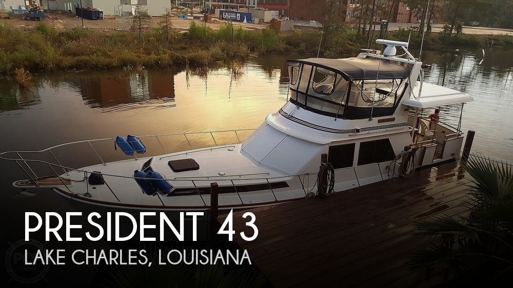 Used President Boats For Sale by owner | 1985 President 43 Double Cabin Aft Motor Yach