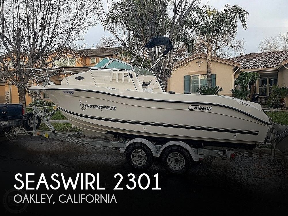 2002 Seaswirl boat for sale, model of the boat is Striper 2301 & Image # 1 of 40