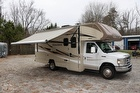 Alloy Wheels, Awning - Patio, Ford E-450 Chassis, Triton V10 305 Hp Engine