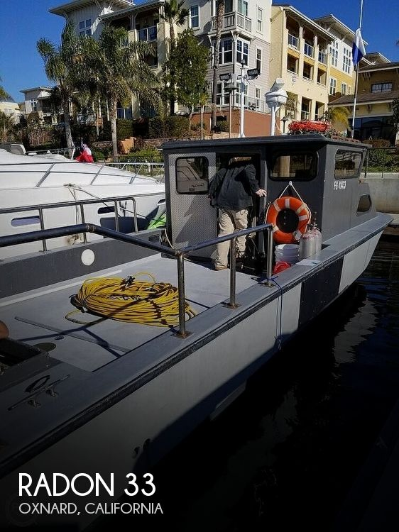 Used Boats For Sale in Oxnard, California by owner | 1990 Radon 33