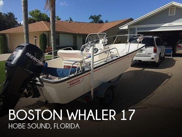 Used Boston Whaler  MONTAUK Boats For Sale by owner | 2007 Boston Whaler 17 Montauk