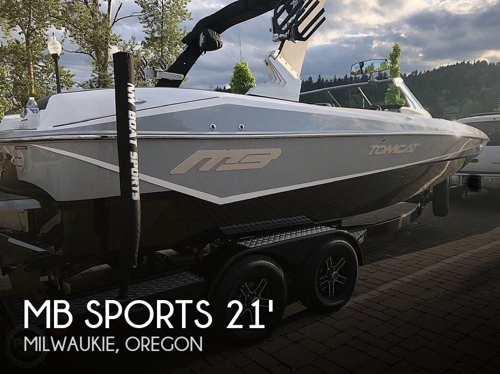 Used MB Sports Boats For Sale by owner | 2018 MB Sports F21 Tomcat