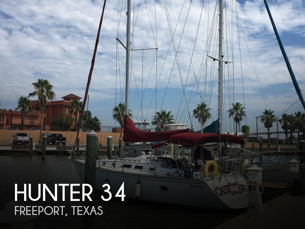 Used Hunter Sailboats For Sale in Texas by owner   1984 Hunter 34