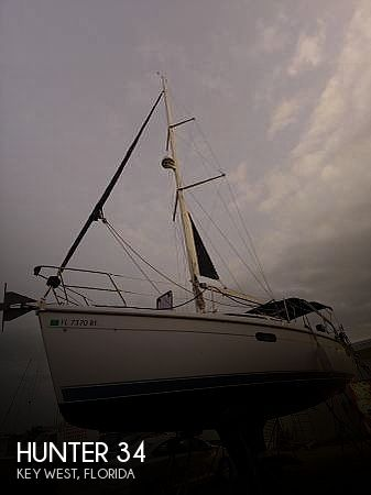 Used Hunter Sailboats For Sale in Florida by owner | 2001 Hunter 34