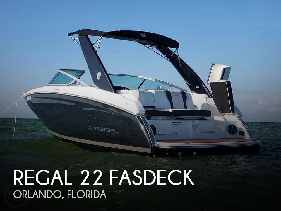 Used Regal Boats For Sale in Florida by owner | 2016 22 foot Regal Fastdeck