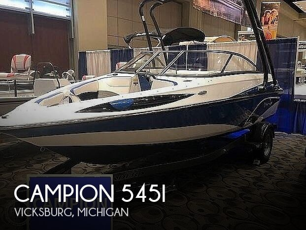 2018 Campion boat for sale, model of the boat is Allante 545i & Image # 1 of 41