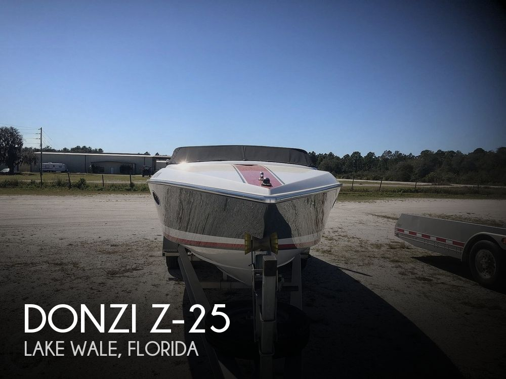 1986 DONZI Z 25 for sale