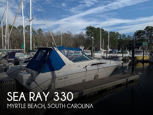1992 Sea Ray boat for sale, model of the boat is 330 Express Cruiser & Image # 1 of 41