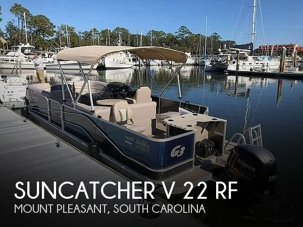 Used Suncatcher Boats For Sale by owner | 2017 SunCatcher 22