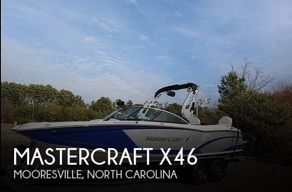 Used Boats For Sale in Charlotte, North Carolina by owner | 2017 Mastercraft X46