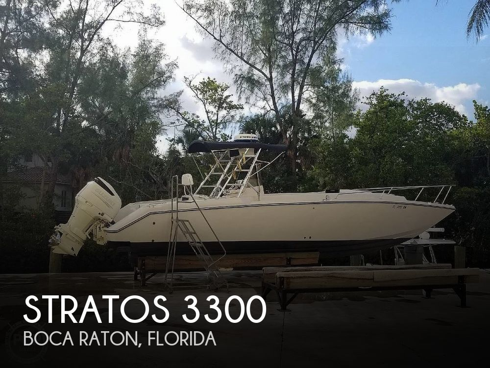 Used Stratos Boats For Sale by owner   1997 Stratos 3300
