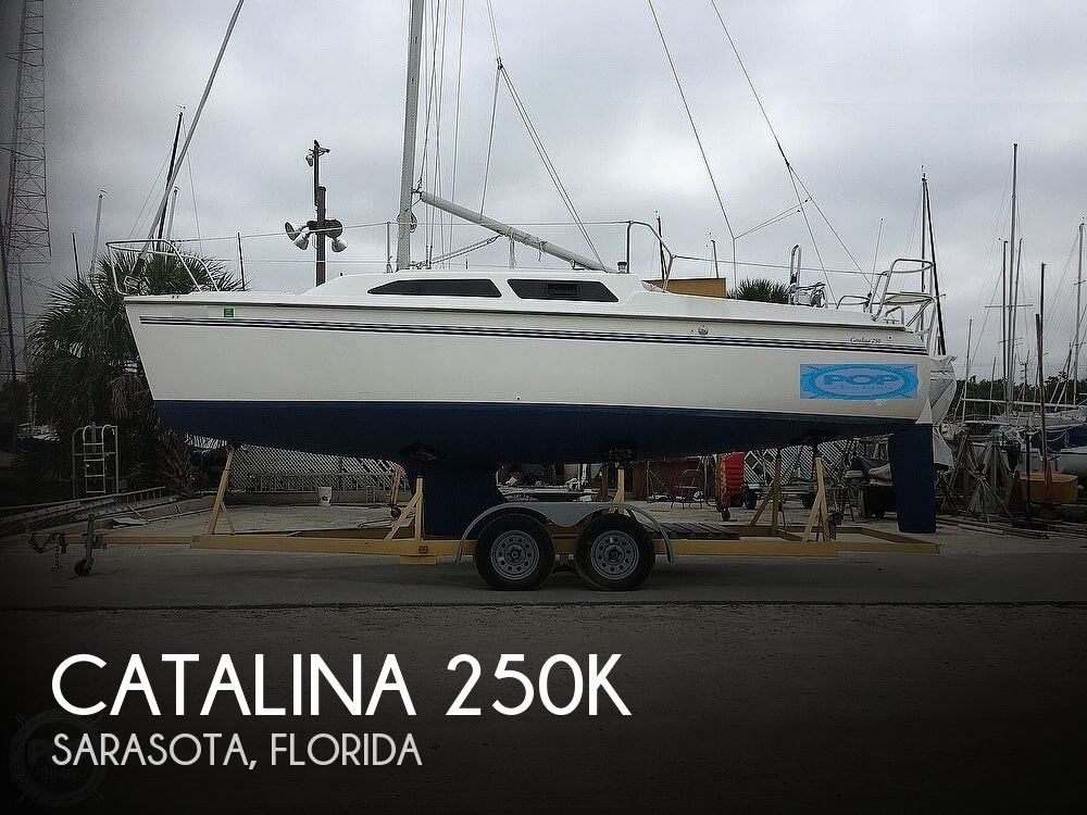 2002 Catalina Yachts boat for sale, model of the boat is 250k & Image # 1 of 40