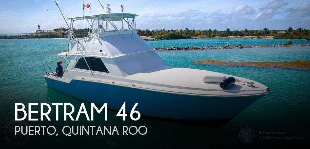 Used BERTRAM Fishing boats For Sale by owner | 1977 Bertram 46