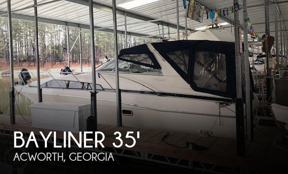 Used Bayliner Boats For Sale in Georgia by owner | 1998 Bayliner 3255 Avanti Sunbridge