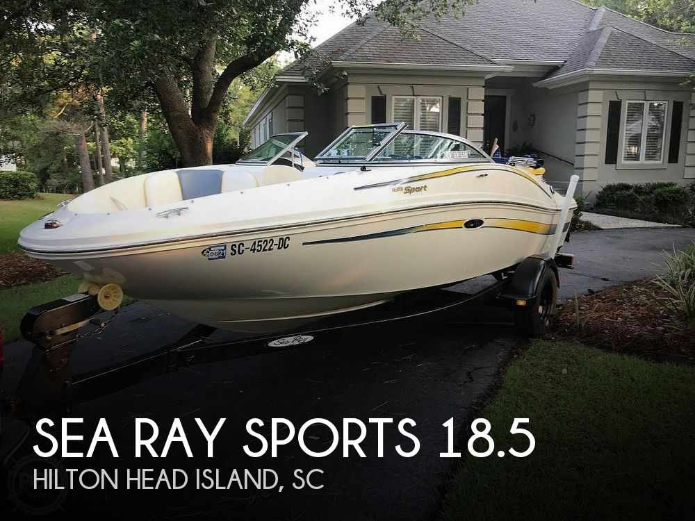 Used Ski Boats For Sale by owner | 2006 Sea Ray Sports 18.5