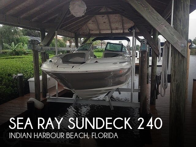 Used Sea Ray Deck Boats For Sale in Florida by owner | 2006 Sea Ray Sundeck 240
