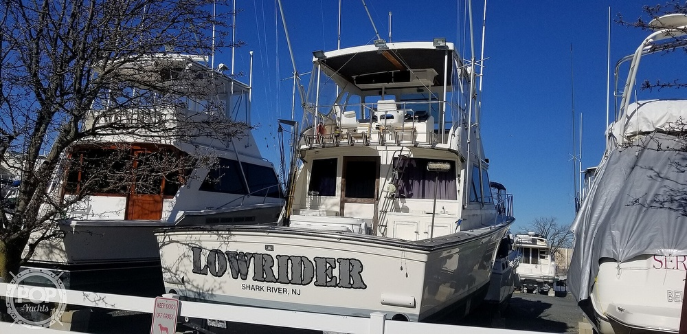1985 Henriques boat for sale, model of the boat is 44 Sportfish & Image # 12 of 40