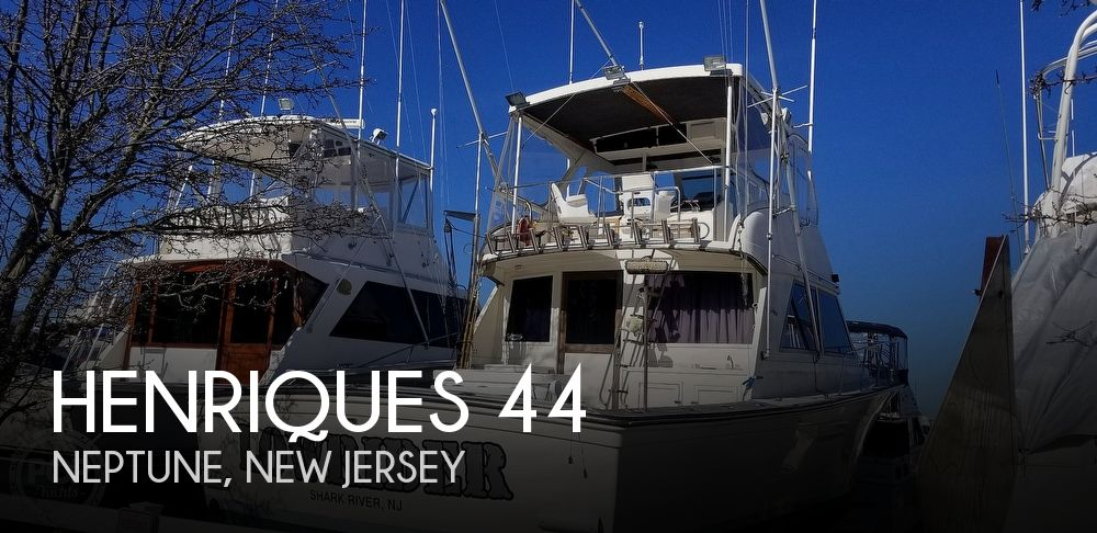 Used Henriques Boats For Sale by owner | 1985 Henriques 44 Sportfish