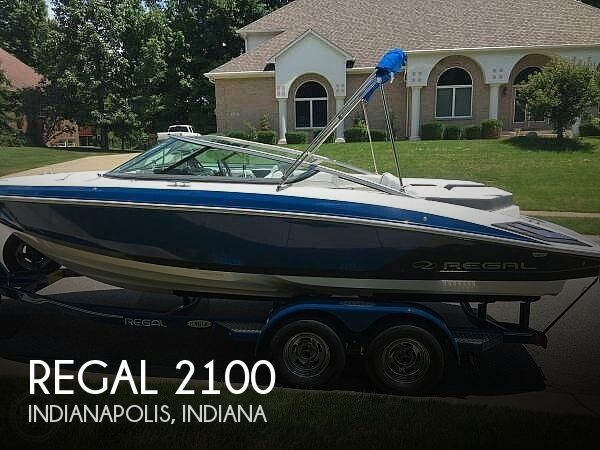 Used Boats For Sale in Indianapolis, Indiana by owner | 2018 Regal 2100