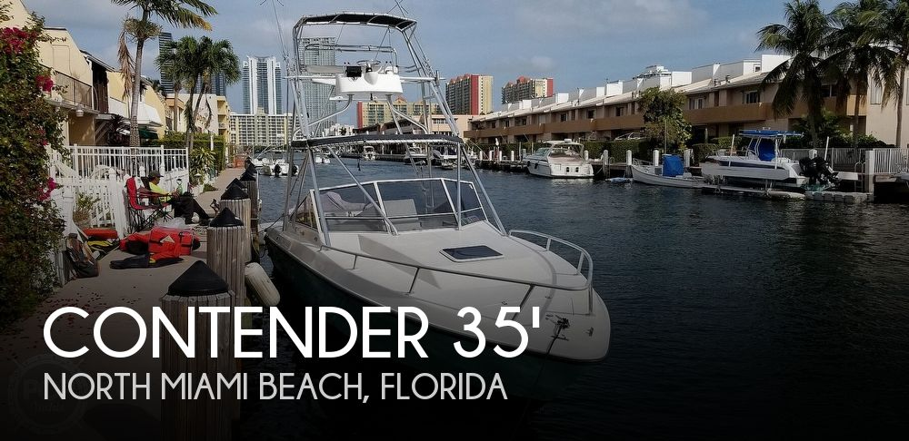 1990 Contender boat for sale, model of the boat is 35 Express Sportfish & Image # 1 of 40
